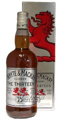 Whyte & Mackay 13 Jahre The Thirteen 0,7 ltr.