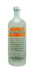 Absolut Vodka Mandrin 1,0 ltr.