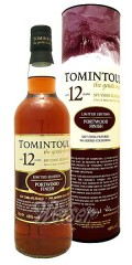 Tomintoul 12 Jahre Portwood Finish - limited edition 0,7 ltr.