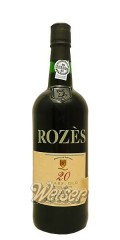 Rozes 20 Years Old Port 0,75 ltr.