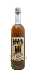 High West Whisky Double Rye - Blend of Straight Rye Whiskey 0,7 ltr