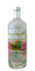 Absolut Gräpevine Vodka 1,0 ltr.