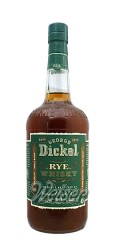 George Dickel Rye Whisky Charcoal Mellowed 1,0 ltr.