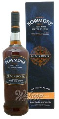 Bowmore Black Rock 1,0 ltr. - Travel Retail Exclusive
