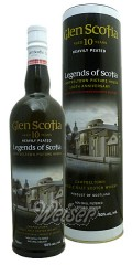 Glen Scotia 10 Jahre Heavily Peated 0,7 ltr. - Legends of Scotia, Campbeltown Picture House