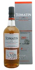 Tomatin 2003 12 Jahre, bottled 2015, Cask 35329 - German Exclusive Cask 0,7 ltr.