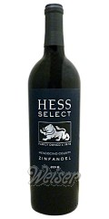 Hess Select Zinfandel Mendecino County California 2013 0,75 ltr.
