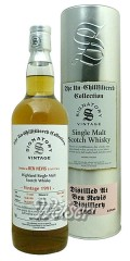 Ben Nevis 1991 23 Jahre, Cask 2917 - The Un-Chillfiltered Collection, Signatory 0,7 ltr.