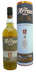 Arran 12 Jahre, Cask Strength, Batch No. 5 0,7 ltr.