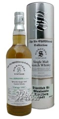 Glenlossie 1997 18 Jahre, Cask 827 + 828 - The Un-Chillfiltered Collection, Signatory 0,7 ltr.
