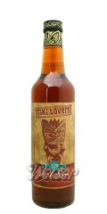 Tiki Lovers Dark Rum 0,7 ltr. - Finest Caribbean Blend 114 proof