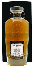 North British 1959 51 Jahre, Cask 67876 - Rare Reserve - Cask Strength Collection, Signatory 0,7 ltr.