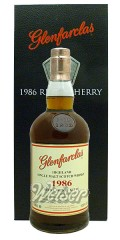 Glenfarclas 1986 29 Jahre, Cask 3454 & 3457 - Refill Sherry Butts - Family Collector Series V 0,7 ltr.