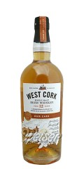 West Cork 12 Jahre Single Malt Irish Whiskey 0,7 ltr. - Cask Collection Limited Release Rum Cask