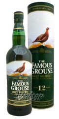 The Famous Grouse 12 Jahre Malt Whisky 0,7 ltr. - 100% blended malt whisky