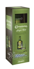 Connemara Peated Irish Single Malt 0,7 ltr. - Gepa mit Nosing Glas
