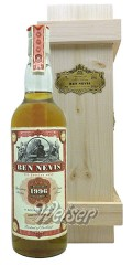 Ben Nevis 1996, bottled 2016, Cask 421 - Anniversary Bottling 20 Years JWWW - Old Train Line Replica 0,7 ltr.