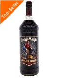 Captain Morgan Black 40% 1,0 ltr.