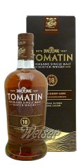 Tomatin 18 Jahre 0,7 ltr. - Finished in Oloroso Sherry Casks