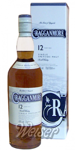 Cragganmore 12 Jahre Classic Malts Selection 0,7 ltr.