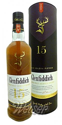 Whisky / Schottland / Speyside / Glenfiddich 15 Jahre 0,7 ltr ...