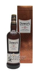 Dewar's 12 Jahre Double Aged 0,7 ltr. - Blended Scotch Whisky