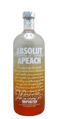 Absolut Vodka Apeach 1,0 ltr.