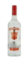 Smirnoff No. 21 Vodka (Red) 1,0 ltr.
