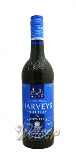 Harveys Bristol Cream Sherry 0,75 ltr.