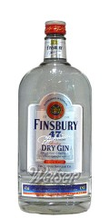 Finsbury London Dry Gin Platinum 47% 1,0 ltr.