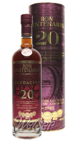 Ron Centenario 20 Fundication Reserva Especial 0,7 ltr