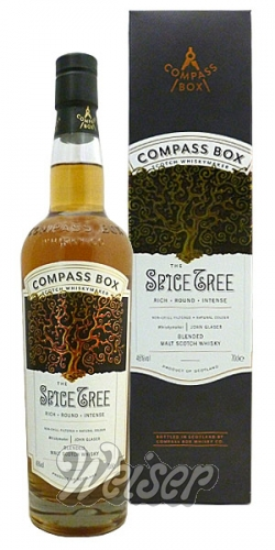 The Spice Tree Compass Box 0,7 ltr.