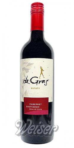 Wein / Chile / de Gras by Mont Gras 0,75 ltr. Cabernet Sauvignon 2017