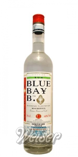 Blue Bay B. Bambous Plantation White Rum 0,7 ltr.