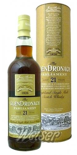 Whisky / Schottland / Speyside / GlenDronach 21 Jahre Parliament 0,7 ...
