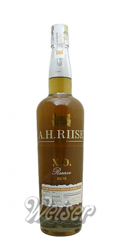 A. H. Riise X.O. Reserve Rum 0,7 ltr.
