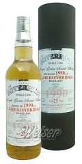 Cameronbridge 1990 23 Jahre Single Grain Cask 9860 - The Sovereign Hunter Laing 0,7 ltr.