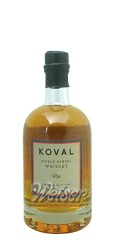 Koval Rye Whiskey Single Barrel 0,5 ltr.