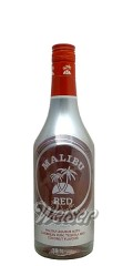 Malibu Red 0,7 ltr. - Liqueur with Carribean Rum, Tequila and Coconut Flavor