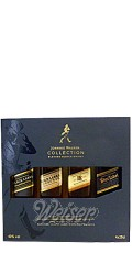 Johnnie Walker The Collection - Black, Gold Reserve, Platinum & Blue Label 4 x 0,2 ltr.