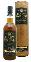 North of Scotland 1972 41 Jahre, Single Grain - Single Cask, Hart Brothers 0,7 ltr.