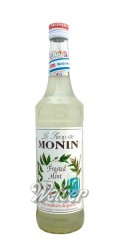 Monin Frosteted Mint 0,7 ltr - Weiße Minze Sirup