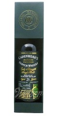 Inchgower 1989 25 Jahre, Bourbon Hogshead - Authentic Collection, Cadenhead 0,7 ltr.
