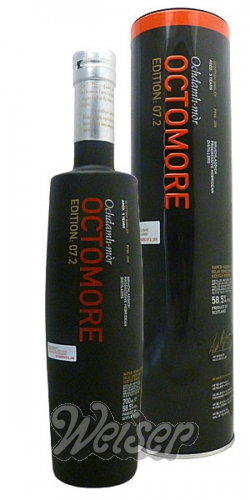 Octomore 7.2 Scottish Barley 208ppm 0,7 ltr. Travel Retail Exclusive