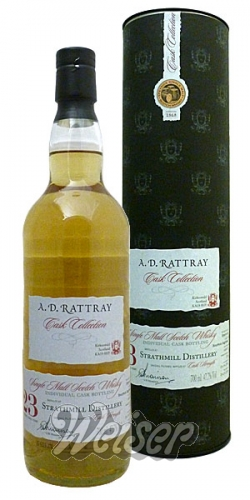 Strathmill 1992 23 Jahre, Cask 668072 Cask Collection, A. D. Rattray 0,7 ltr.