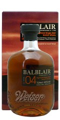 Balblair 2004 Sherry Matured 1,0 ltr. - 1st Release, Exclusive to Travel Retail