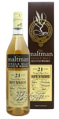 The Speyside 1995 21 Jahre, Cask 28 - The Maltman, Meadowside Blending 0,7 ltr.