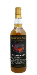 Invergordon 1988 26 Jahre, Fighting Fish - Single Grain - selected for Monnier Trading, Jack Wiebers 0,7 ltr.