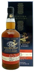 Glenturret 1990 25 Jahre, Cask 91811 - Vintage Bottling - Dun Bheagan, William Maxwell & Co. 0,7 ltr.