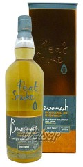 Benromach 2007 ca. 9 Jahre, Peat Smoke - bottled 2016, 57ppm Seriously Smoky 0,7 ltr.